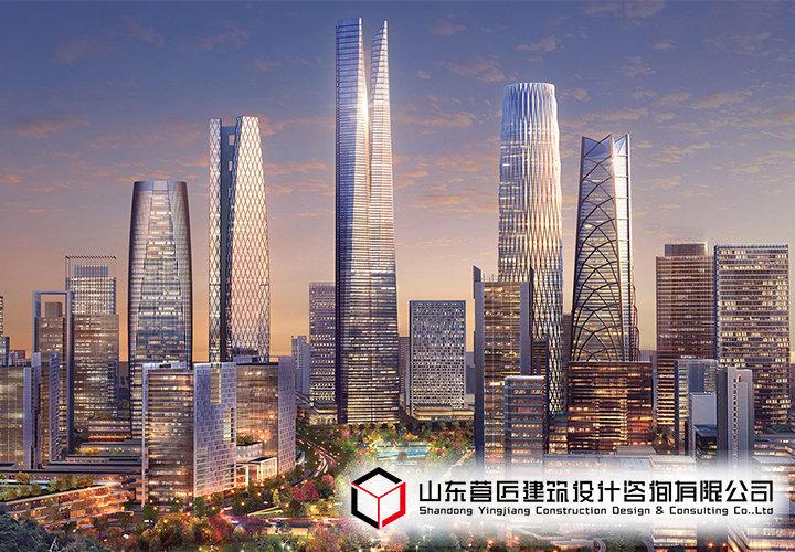 中央商务区平安360米超高层